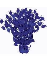 Graduation Decorations Blue Graduation Cap Centerpiece Image