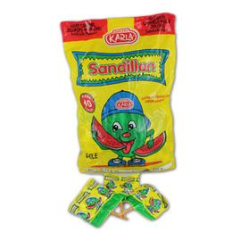 Cinco de Mayo Favors & Prizes Sandillon Watermelon Candy Lollipops Image