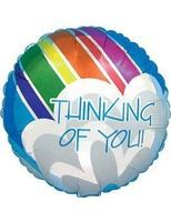 Balloons Thinking of You Mylar Balloon Image