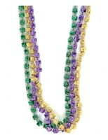 Mardi Gras Party Wear Mardi Gras Dice Bead Necklaces Image