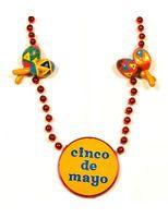 Cinco de Mayo Party Wear Cinco de Mayo Maraca Necklace Image