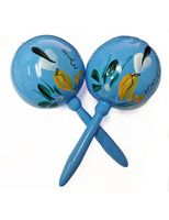 Cinco de Mayo Favors & Prizes Light Blue Maracas Image