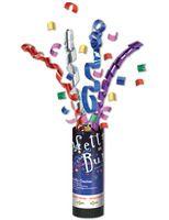 Birthday Party Decorations Multicolor Confetti Burst Image