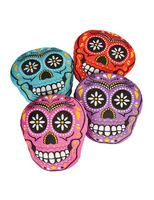 Day of the Dead Decorations Sugar Skull Pillow Image