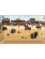 Western Decorations Complete Wild West Scene Image