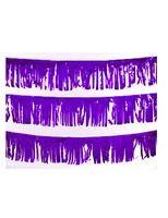 Decorations Purple Metallic Fringe Image