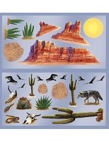 Western Decorations Wild West Desert Props Image