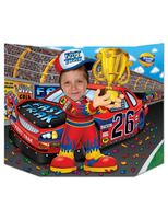 Sports Decorations Race Car Driver Photo Prop Image