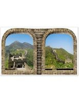 International Decorations Great Wall of China Backdrop Image