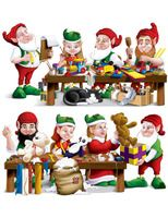 Christmas Decorations Santa's Workshop Props Image