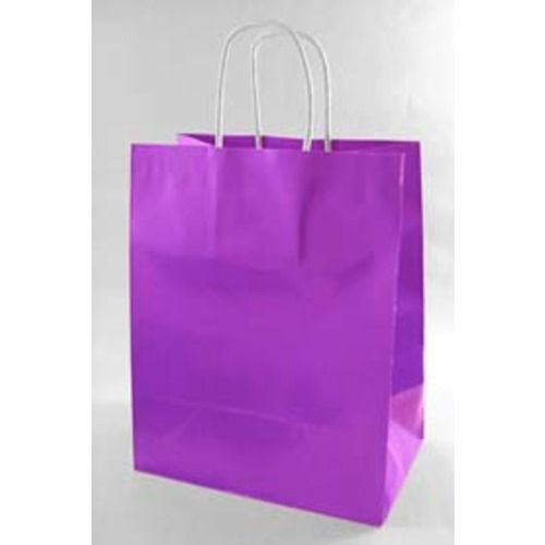 Gift Bags  Paper Medium Gift Bag Purple Image