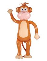 Luau Decorations Jumbo Monkey Inflate Image