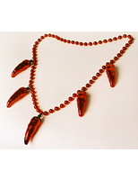 Cinco de Mayo Party Wear Chili Pepper Necklace Image