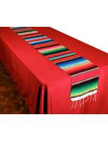 Cinco de Mayo Table Accessories Woven Serape Table Runner Image