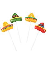 Cinco de Mayo Favors & Prizes Sombrero Suckers Image