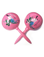 Cinco de Mayo Favors & Prizes Pink Maracas Image