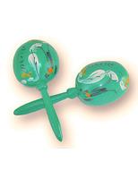 Cinco de Mayo Favors & Prizes Seafoam Green Maracas Image