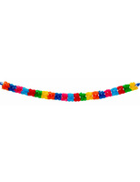 Cinco de Mayo Decorations Large Plastic Multicolor Garland Image
