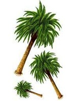 Luau Decorations Palm Tree Props Image