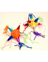 Cinco de Mayo Decorations Mini Foil Star / Satellite Pinata Image