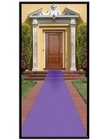 Mardi Gras Decorations Purple Carpet Runner Image