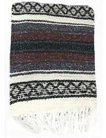 Cinco de Mayo Decorations Brown Mexican Blanket Image