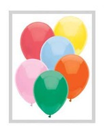 "Balloons 11"" Assorted Standard Balloons Image"