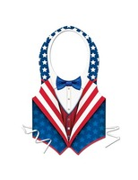 4th of July Party Wear Patriotic Plastic Vest Image