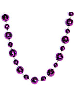 New Years Party Wear Assorted Mirror Ball Necklace Image