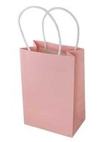 Baby Shower Gift Bags & Paper Small Gift Bag Light Pink Image