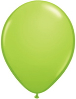 "St. Patrick's Day Balloons 11"" Lime Green Qualatex Balloons Image"