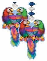 Cinco de Mayo Decorations Tropical Bird Danglers Image