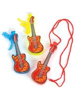 Fifties Favors & Prizes Guitar Bubble Necklaces Image