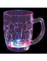 Cinco de Mayo Glow Lights Flashing Beer Mug Image