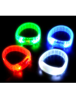 Glow Lights Flashing Bracelet Image