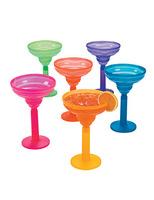 Cinco de Mayo Table Accessories Two-Tone Margarita Glass Image
