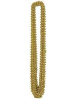 New Years Party Wear Gold Metallic Bead Necklaces Image