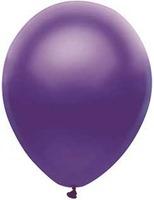 """Mardi Gras Balloons 11"""" Satin Purple Value Balloons Image"""