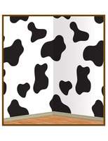 Western Decorations Cow Print Backdrop Image