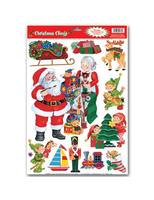 Christmas Decorations Santa Workshop Glass Magnets Image