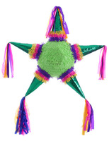 Cinco de Mayo Decorations Standard Metallic 5 Point Star Pinata Image