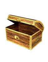 Pirates Decorations Treasure Chest Box Image