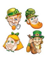 St. Patrick's Day Decorations St. Patrick's Day Cutouts Image