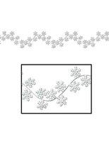 Christmas Decorations Winter Snowflake Garland Image