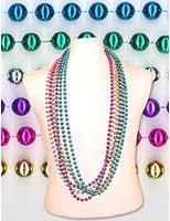 """Cinco de Mayo Party Wear 72"""" Metallic Bead Necklace Image"""