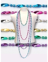 Cinco de Mayo Party Wear Assorted Color Swirl Necklaces Image