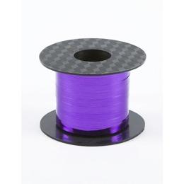 Mardi Gras Balloons Mylar Curling Ribbon Purple Image