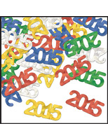 New Years Decorations 2015 Metallic Confetti Image