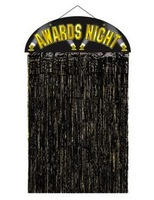 Awards Night & Hollywood Decorations Awards Night Door Curtain Image