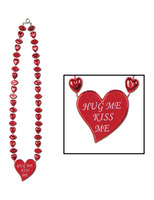 Valentine's Day Party Wear Valentine Heart Necklace Image